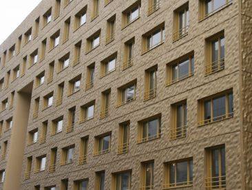 Fenetre couleur bois naboco Lyon Confluence
