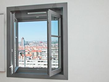 Fenêtre Bois Gris