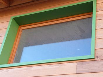 Fenêtre Tableau Peinte Ardèche