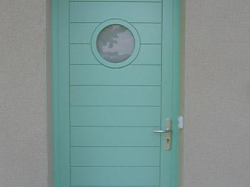 Porte Entrée Bleue