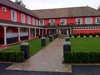 Rénovation Restaurant Bois Fenetre Volet