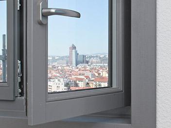 Fenêtre Grise Villeurbanne