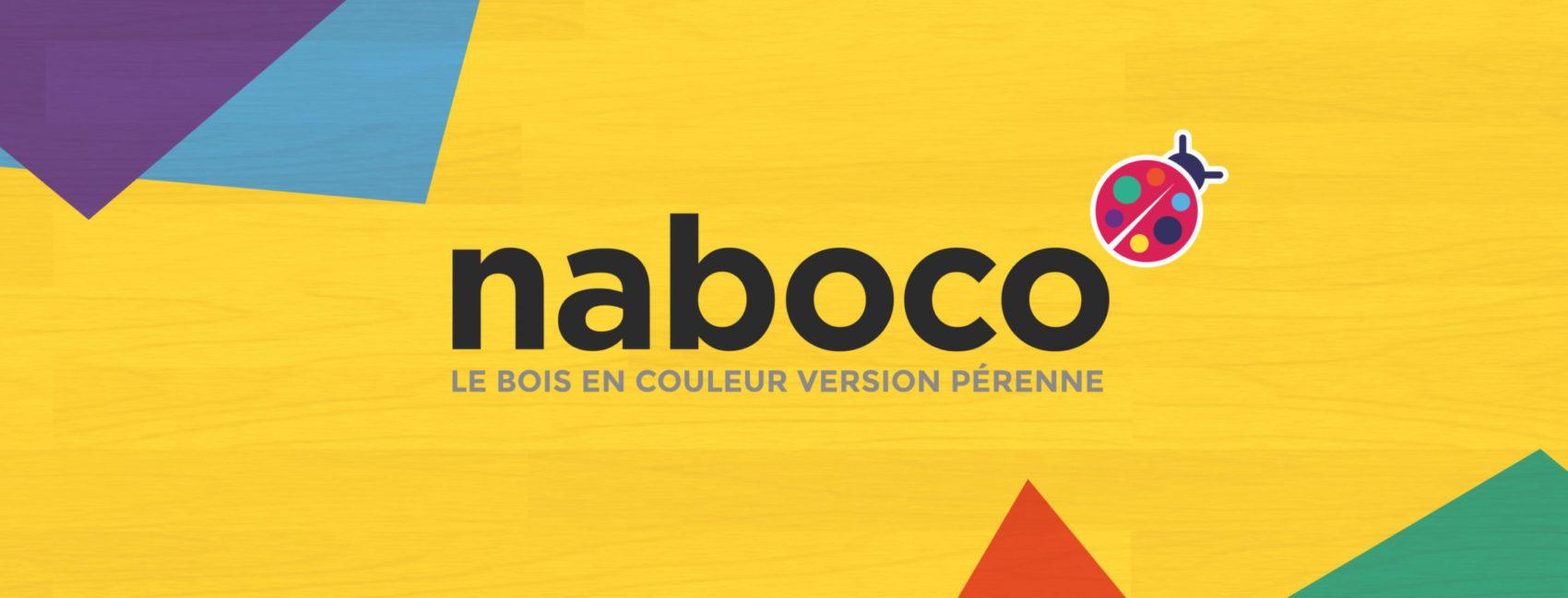 Naboco Menuisierie Bois en Couleur Nouvelle Communication de Marque