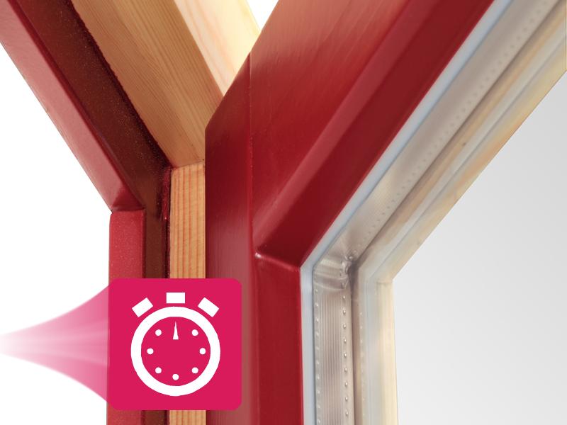 Menuiserie bois couleur finition Naboco garantie 10 ans