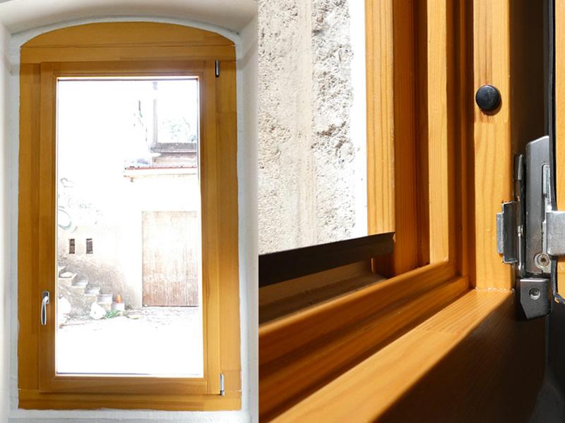 Menuiserie bois Naboco garantie 6 ans sans surveillance