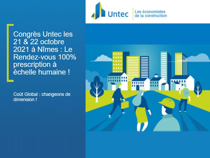 congrès national untec